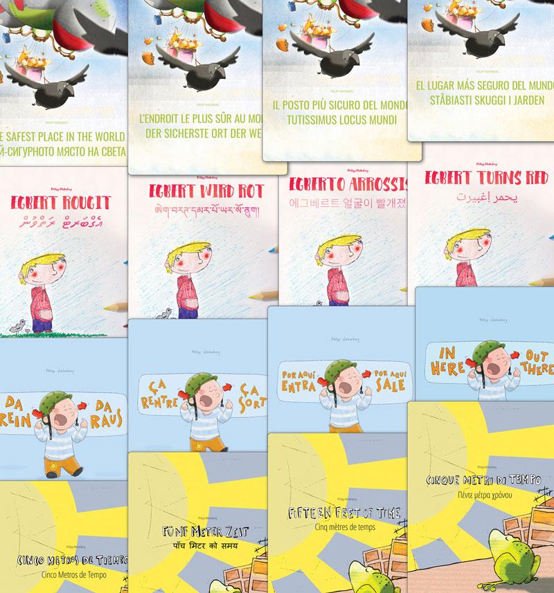 Libros: 'Egberto se enrojece', '¡Por aqui entra, Por aqui sale!' ...